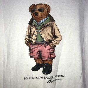 VTG Polo by Ralph Lauren Polo Bear Tee Size Large